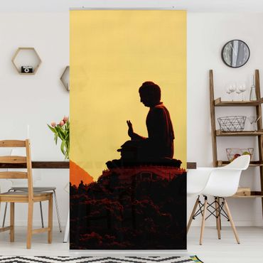 Raumteiler - Resting Buddha 250x120cm