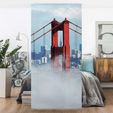 Raumteiler - Good Morning, San Francisco! 250x120cm