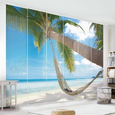 Schiebegardinen Set - Relaxing Day - Flächenvorhänge