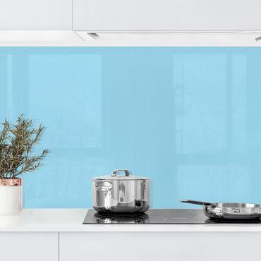 Küchenrückwand - Pastellblau
