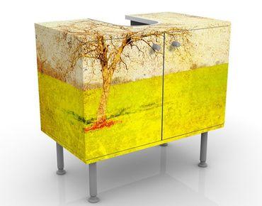 Waschbeckenunterschrank - Daybreak - Badschrank Gelb