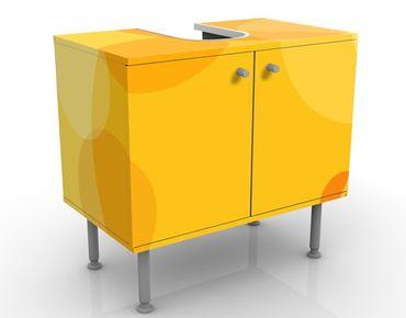 Waschbeckenunterschrank - Caribbean Lounge - Badschrank Gelb