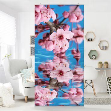 Raumteiler - Kirschblüte 250x120cm