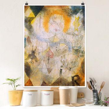 Poster - Paul Klee - Irma Rossa - Hochformat 3:4