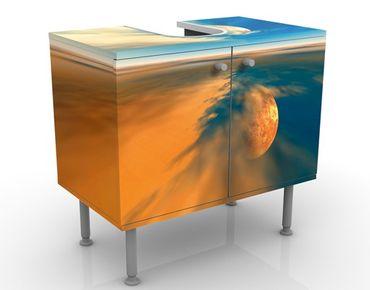 Waschbeckenunterschrank - Fantasy - Badschrank Orange