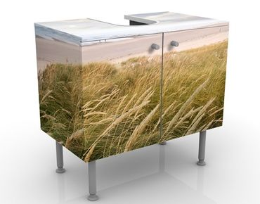 Waschbeckenunterschrank - Dünentraum - Maritim Badschrank Beige