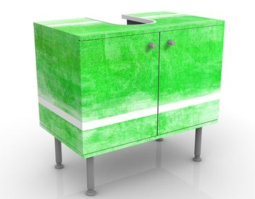 Waschbeckenunterschrank - Colour Harmony Green - Badschrank Grün