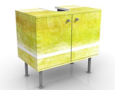 Waschbeckenunterschrank - Colour Harmony Yellow - Badschrank