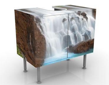 Waschbeckenunterschrank - Waterfalls - Badschrank