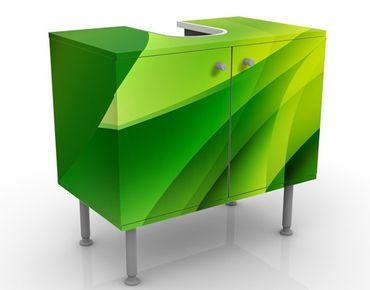 Waschbeckenunterschrank - Green Composition - Badschrank Grün