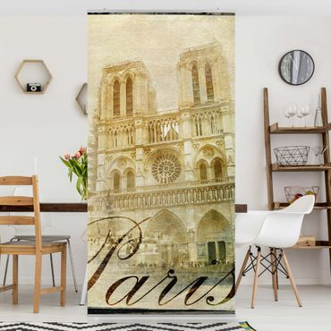 Raumteiler - Paris Mon Amour 250x120cm