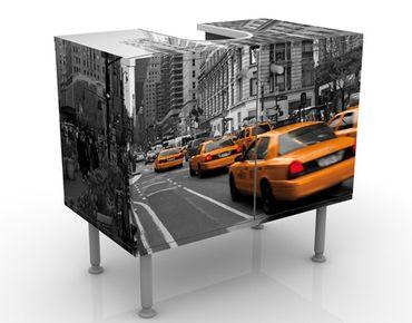 Waschbeckenunterschrank - New York, New York! - Badschrank Gelb