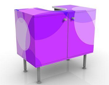Waschbeckenunterschrank - Sunset Lounge - Badschrank Rosa