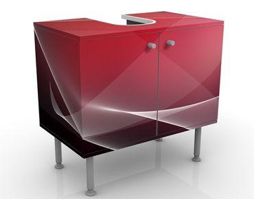 Waschbeckenunterschrank - Funky Free Style - Badschrank Rot