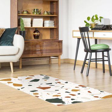 Vinyl-Teppich - Detailliertes Terrazzo Muster Livorno - Querformat 2:1