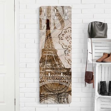Garderobe - Shabby Chic Collage - Paris