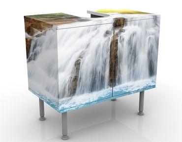 Waschbeckenunterschrank - Morgen im Paradies - Badschrank