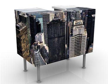 Waschbeckenunterschrank - Mitten in New York - Badschrank