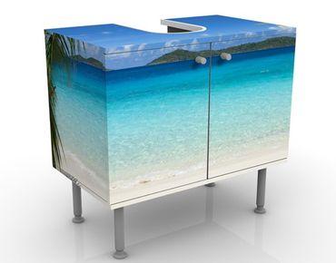 Waschbeckenunterschrank - Perfect Maledives - Badschrank Blau