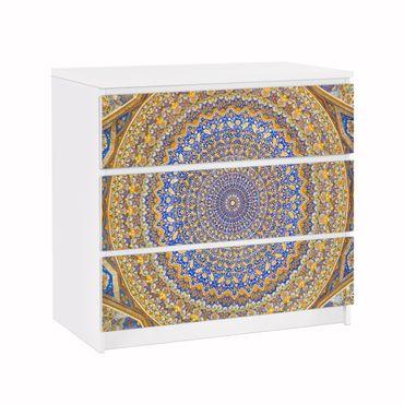 Möbelfolie für IKEA Malm Kommode - Klebefolie Dome of the Mosque