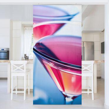 Raumteiler - Dainty Cosmopolitan 250x120cm