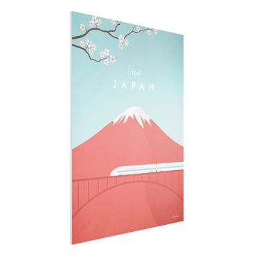 Forex Fine Art Print - Reiseposter - Japan - Hochformat 4:3