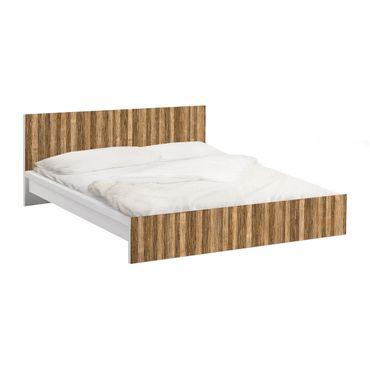 Möbelfolie für IKEA Malm Bett niedrig 140x200cm - Amazakou Light