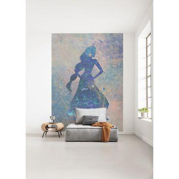 Disney Kindertapete - Jasmin Silhouette - Komar Fototapete