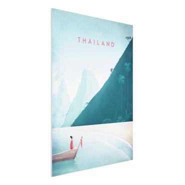 Forex Fine Art Print - Reiseposter - Thailand - Hochformat 4:3