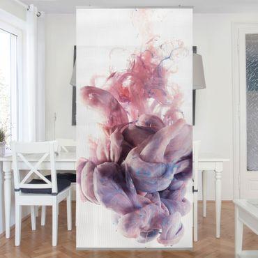 Raumteiler - Abstrakte flüssige Farbverläufe 250x120cm