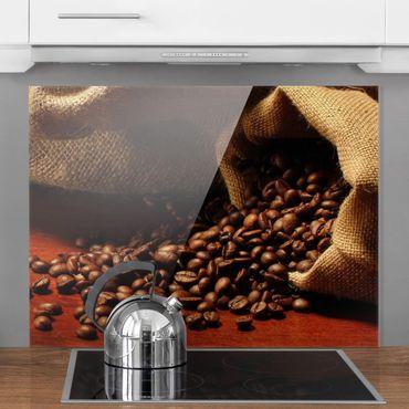 Glas Spritzschutz - Dulcet Coffee - Querformat - 4:3