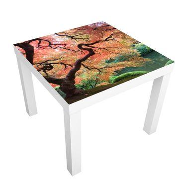 Möbelfolie für IKEA Lack - Klebefolie Japanischer Garten