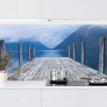 Küchenrückwand - Nelson Lakes National Park Neuseeland