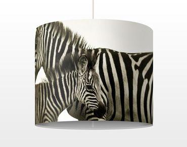 Hängelampe - Zebrapaar