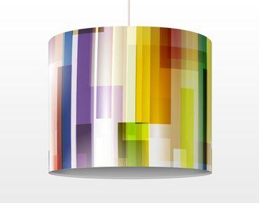 Hängelampe - Rainbow Cubes