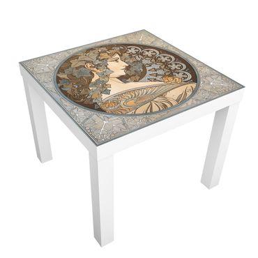 Möbelfolie für IKEA Lack - Klebefolie Synthia