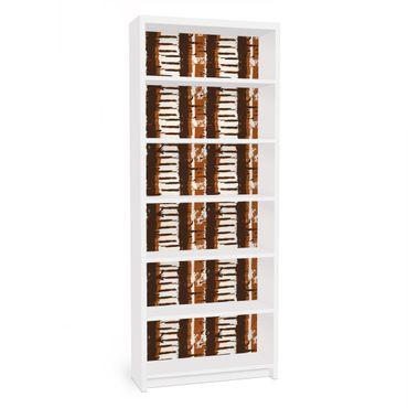 Möbelfolie für IKEA Billy Regal - Klebefolie Ethno Streifen