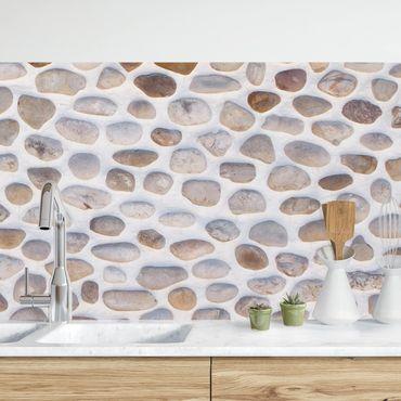 Küchenrückwand - Andalusische Steinmauer