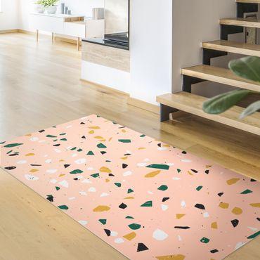 Vinyl-Teppich - Detailliertes Terrazzo Muster Lecce - Querformat 2:1
