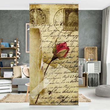 Raumteiler - Heavenly Postcard 250x120cm