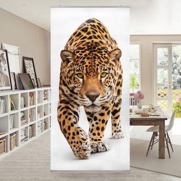 Raumteiler - Creeping Jaguar 250x120cm