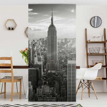 Raumteiler - Manhattan Skyline 250x120cm