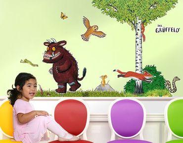 Der Grüffelo - Wandtattoo Babyzimmer Wald Grüffelo - Waldleben Sticker Set