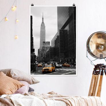 Poster - Klassisches NYC - Hochformat 3:2
