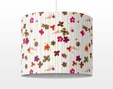 Hängelampe - Floral Pattern
