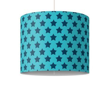 Hängelampe - Sterndesign Blau
