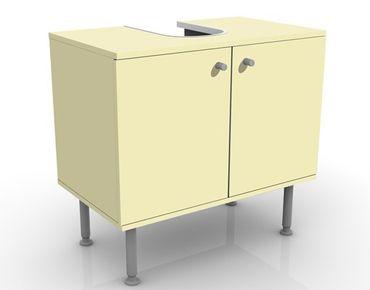 Waschbeckenunterschrank - Colour Creme - Badschrank Beige