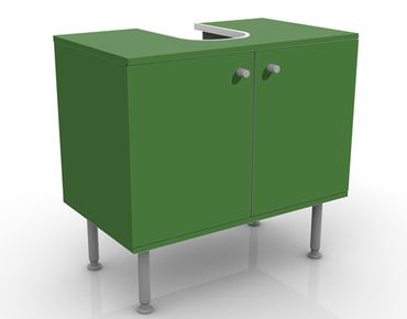 Waschbeckenunterschrank - Colour Dark Green - Badschrank Grün