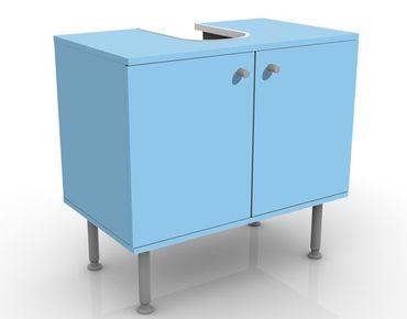 Waschbeckenunterschrank - Colour Light Blue - Maritim Badschrank Blau