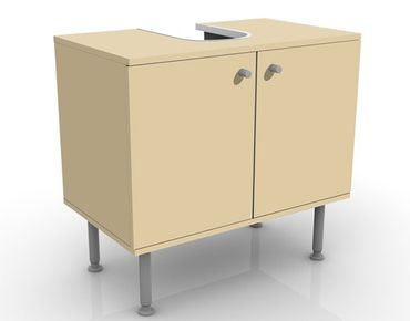 Waschbeckenunterschrank - Colour Light Brown - Maritim Badschrank Beige